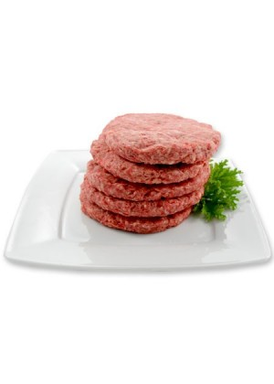 Raw beef hamburger – STEAK