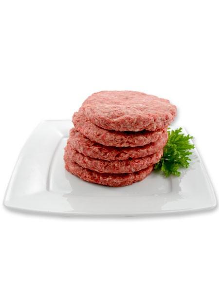 Raw beef hamburger – STEAK
