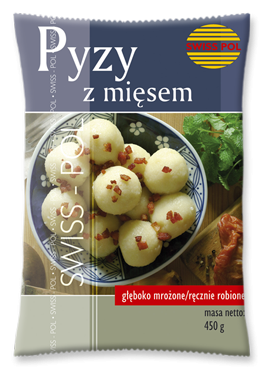 Potato dumplings with meat